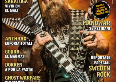 Metal Hammer Spain - Zakk Wylde